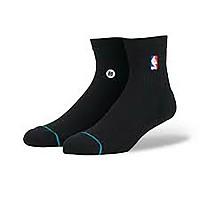 [해외]STANCE NBA Logoman Quarter Black