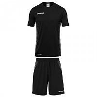 [해외]UHLSPORT Score Kit S/S Black / White