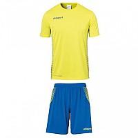 [해외]UHLSPORT Score Kit S/S Lime Yellow / Azure Blue