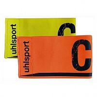 [해외]UHLSPORT Captains Armband Fl.Yellow. Shockred Colour Assorted