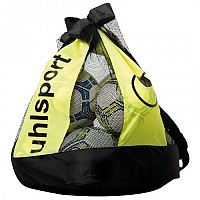 [해외]UHLSPORT Ballbag 16 Black / Fluo Yellow