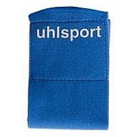 [해외]UHLSPORT Shinguard Fastener 65 mm 3 Packs X 2 Royal