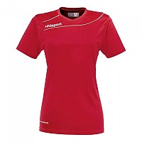 [해외]UHLSPORT Stream 3.0 Shirt Women Ss Red / White