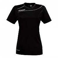 [해외]UHLSPORT Stream 3.0 Shirt Women Ss Black / White