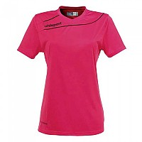 [해외]UHLSPORT Stream 3.0 Shirt Women Ss Pink / Black