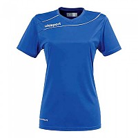 [해외]UHLSPORT Stream 3.0 Shirt Women Ss Azurblue / White
