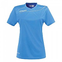 [해외]UHLSPORT Stream 3.0 Shirt Women Ss Cyan / White