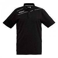 [해외]UHLSPORT Stream 3.0 Polo Shirt Black / White