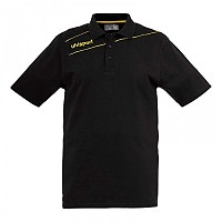 [해외]UHLSPORT Stream 3.0 Polo Shirt Black / Cornyellow