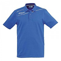 [해외]UHLSPORT Stream 3.0 Polo Shirt Azurblue / White