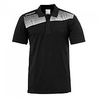 [해외]UHLSPORT Liga 2.0 Polo Shirt Black / White