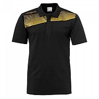 [해외]UHLSPORT Liga 2.0 Polo Shirt Black / Gold