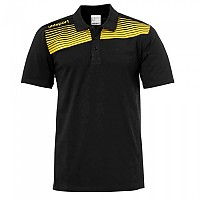 [해외]UHLSPORT Liga 2.0 Polo Shirt Lime Yellow / Black
