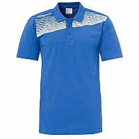[해외]UHLSPORT Liga 2.0 Polo Shirt Azurblue / White