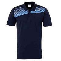 [해외]UHLSPORT Liga 2.0 Polo Shirt Navy / Sky Blue