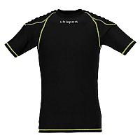 [해외]UHLSPORT Torwarttech Protec. Baselayer Shirt Ss Black / Fluoryellow