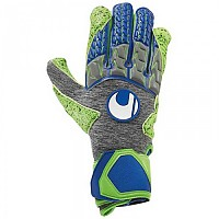 [해외]UHLSPORT Tensiongreen Supergrip HN Dark Grey Melange / Fluo Green