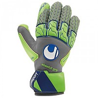 [해외]UHLSPORT Tensiongreen Absolutgrip Reflex Dark Grey Melange / Fluo Green
