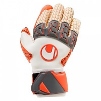 [해외]UHLSPORT Aerored Lloris Supergrip White / Dark Grey / Fluo Red