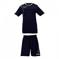 [해외]UHLSPORT Match Team Kit Shirt&Shorts Ss Women Navy / White