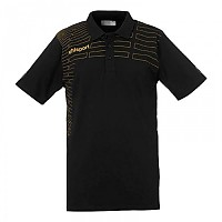 [해외]UHLSPORT Match Polo Shirt Black / Gold