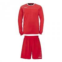 [해외]UHLSPORT Match Team Kit Shirt&Shorts Ls Red / White