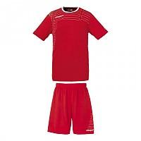 [해외]UHLSPORT Match Team Kit Shirt&Shorts Ss Red / White