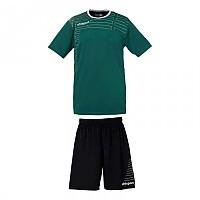 [해외]UHLSPORT Match Team Kit Shirt&Shorts Ss Lagoon / White