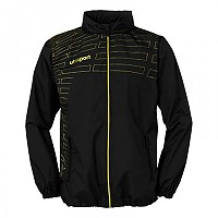 [해외]UHLSPORT Match All-Weather Jacket Black / Lime Yellow