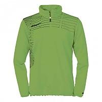 [해외]UHLSPORT Match 1/4 Zip Top Green Flash / Black