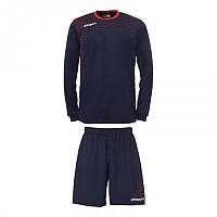[해외]UHLSPORT Match Team Kit Shirt&Shorts Ls Navy / Red
