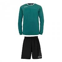 [해외]UHLSPORT Match Team Kit Shirt&Shorts Ls Lagoon / White