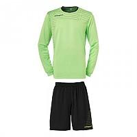 [해외]UHLSPORT Match Team Kit Shirt&Shorts Ls Green Flash / Black