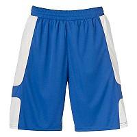 [해외]UHLSPORT Cup Shorts Azure Blue / White