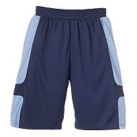 [해외]UHLSPORT Cup Shorts Navy / Sky