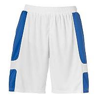 [해외]UHLSPORT Cup Shorts White / Azure Blue