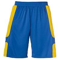 [해외]UHLSPORT Cup Shorts Azure Blue / Cornyellow