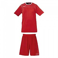 [해외]UHLSPORT Match Team Kit Shirt&Shorts Ss Women Red / White