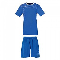 [해외]UHLSPORT Match Team Kit Shirt&Shorts Ss Women Azurblue / White