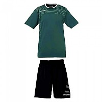[해외]UHLSPORT Match Team Kit Shirt&Shorts Ss Women Lagoon / White