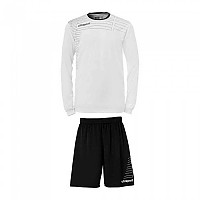 [해외]UHLSPORT Match Team Kit Shirt&Shorts Ls Women White / Black