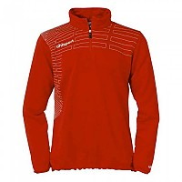 [해외]UHLSPORT Match 1/4 Zip Top Women Red / White