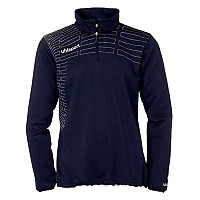 [해외]UHLSPORT Match 1/4 Zip Top Women Navy / White