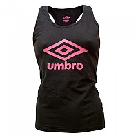 [해외]UMBRO Large Logo Tank Black / Pink