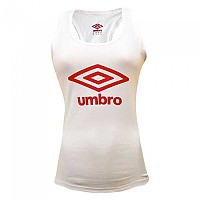 [해외]UMBRO Large Logo Tank White / Red