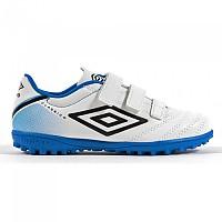 [해외]UMBRO Classico V Velcro TF White / Black / Electric Blue