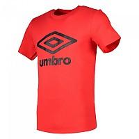 [해외]UMBRO Cotton Large Logo Vermillion / Black