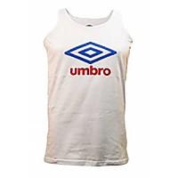 [해외]UMBRO Large Logo Tank White / Blue