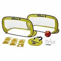 [해외]윌슨 NCAA Ultimate Backyard Soccer Kit White