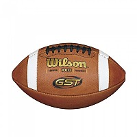 [해외]WILSON GST Leather Football Official Gold / White